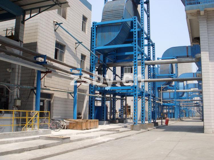 魏桥纺织股份有限公司滨州热电厂使用宙斯泵业衬塑泵