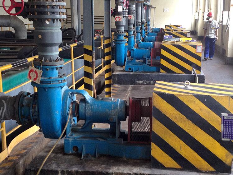 宙斯泵在山东恒邦冶炼
