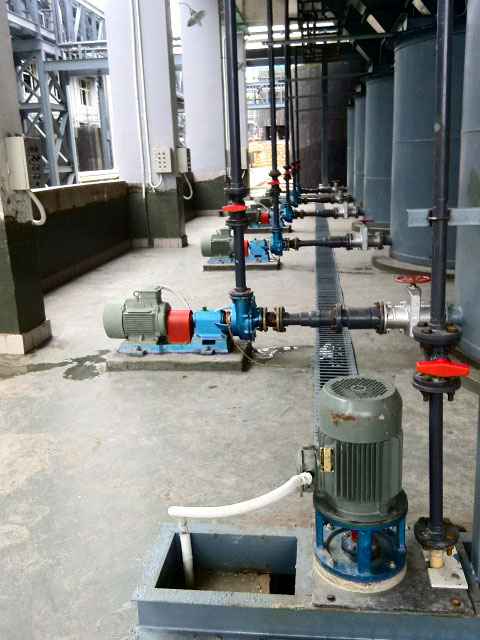 宙斯泵在红河锌联工程中应用