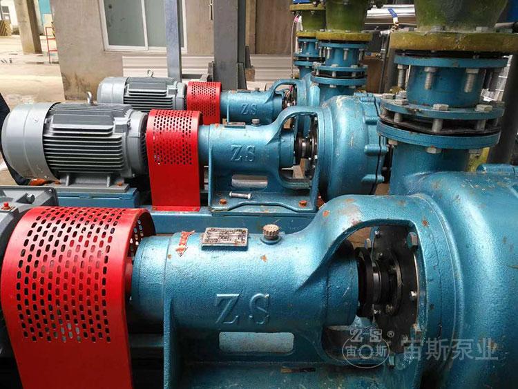 宙斯泵业150UHB-ZK-JS风冷双密封在泰山石膏脱硫工程中使用