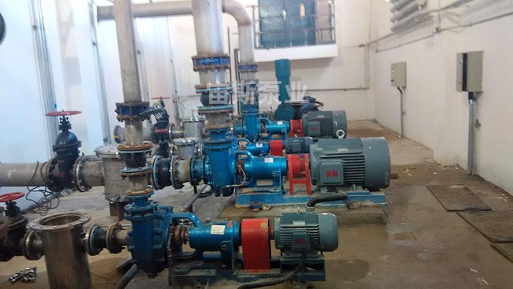 宙斯泵在辽宁鞍山钢铁使用现场