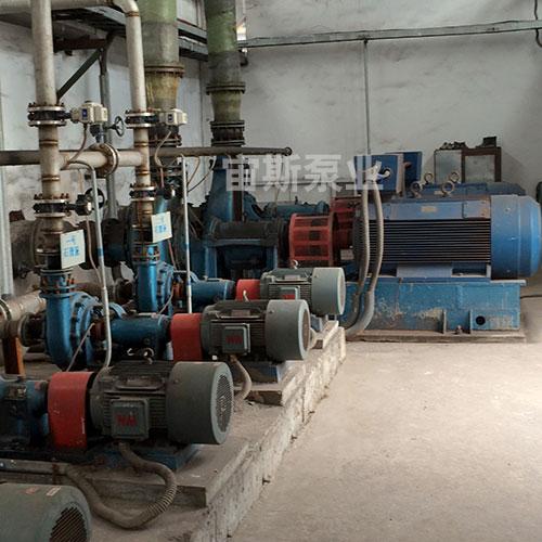 宙斯泵在河北东海特钢脱硫工况中使用