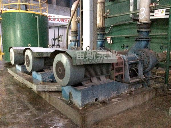 宙斯泵在芜湖富鑫钢铁脱硫工况中使用