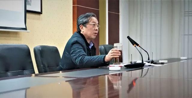 宙斯泵业董事长蒋龙福发言