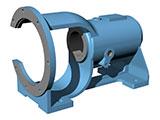 HFM系列耐腐耐磨压滤泵轴承座安装指导
