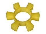 弹性六角块/六角弹性块/联轴器弹垫