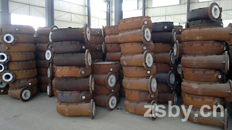 宙斯泵业衬塑泵泵壳库存